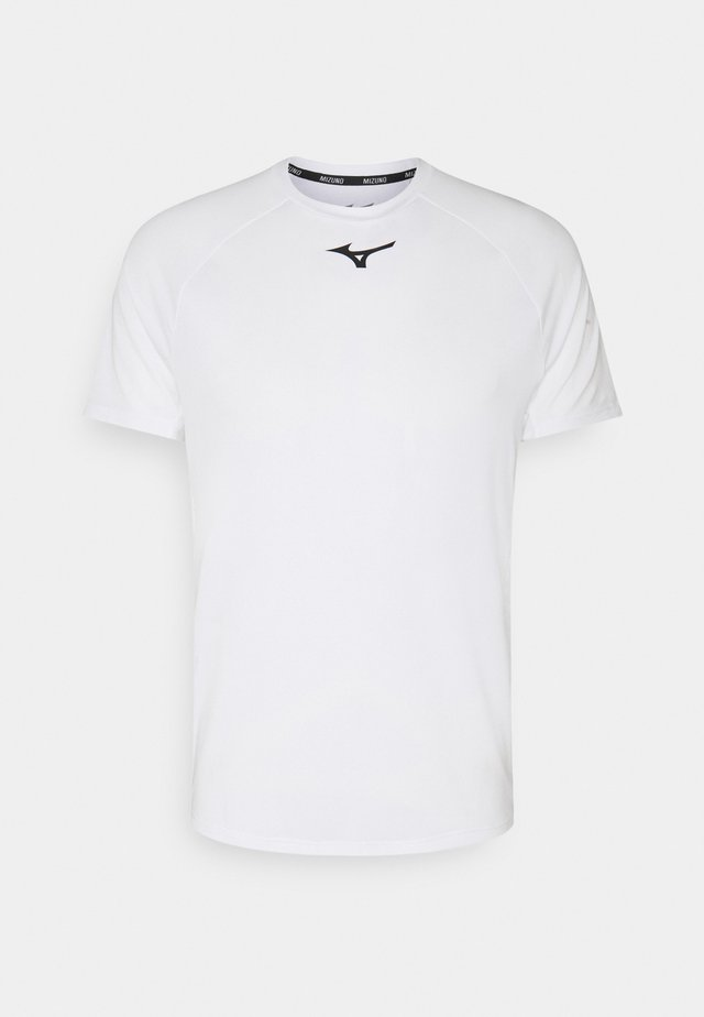 SHADOW TEE - Print T-shirt - white