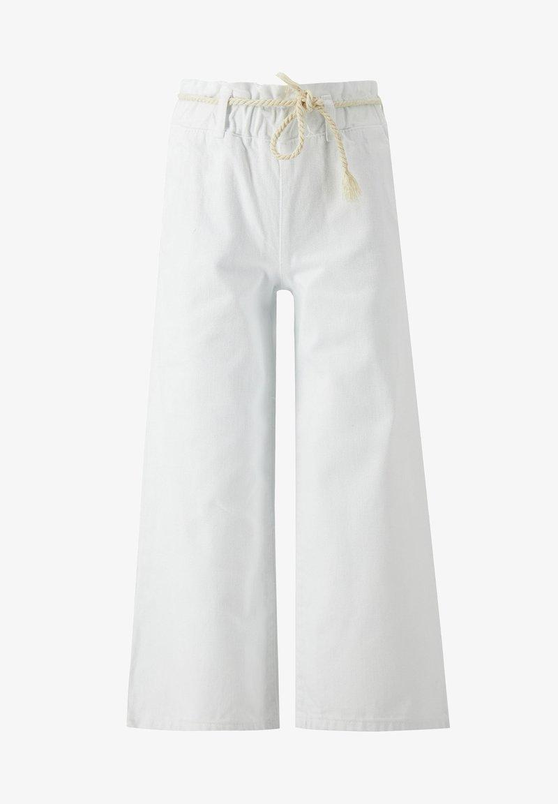 DeFacto - Spodnie materiałowe - white