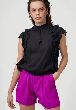 TEASER - Print T-shirt - black out