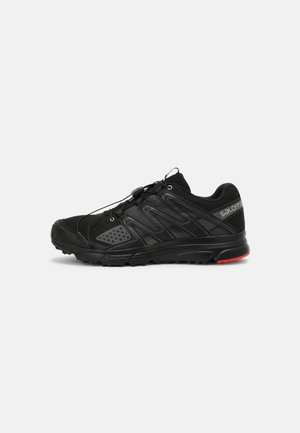 X MISSION 3 UNISEX - Sneakers - black/silver/racing red