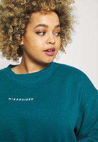 Missguided Plus - WASHED BASIC  - Sweatshirt - blue - 3
