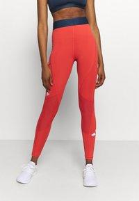 adidas Performance - ADILIFE - Collants - crew red/black/white - 0