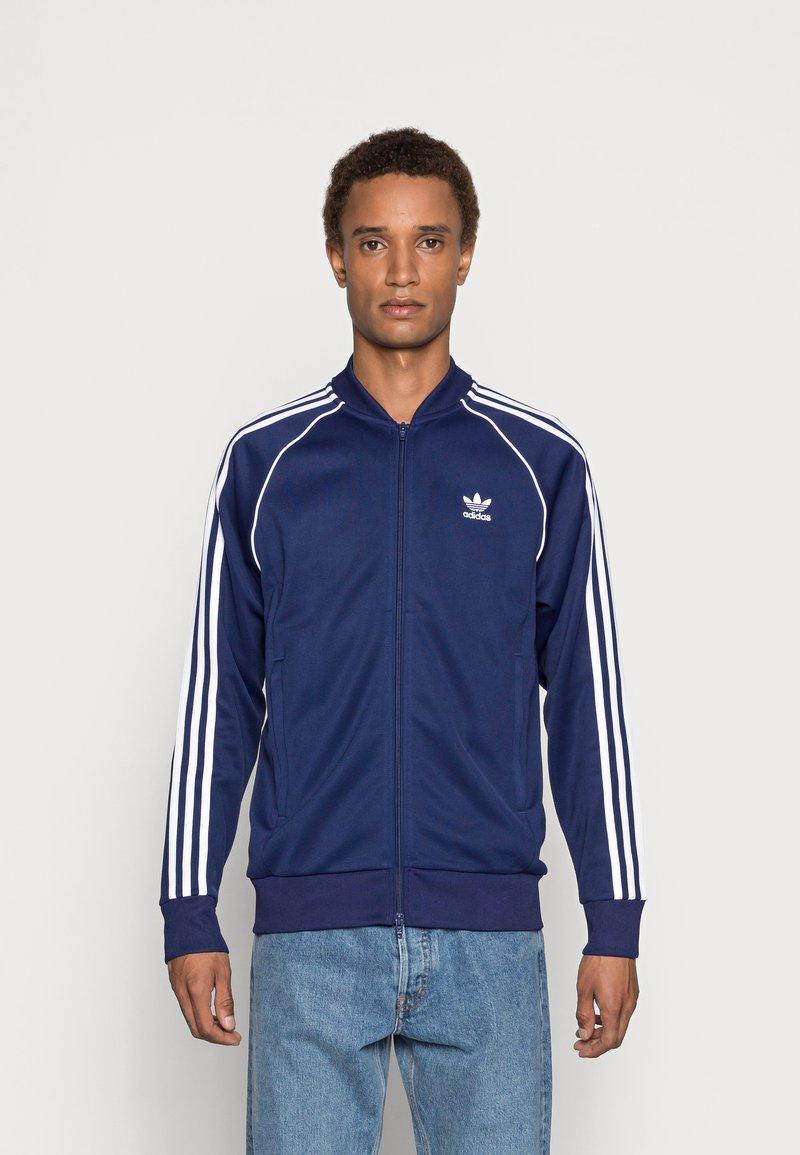 adidas Originals - Training jacket - night sky/white