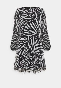 Milly - ELMA GRAPIC BUTTTERFLY DRESS - Day dress - black/white - 4
