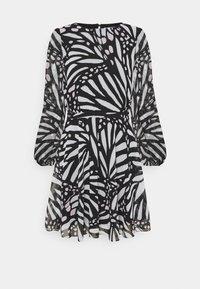 ELMA GRAPIC BUTTTERFLY DRESS - Day dress - black/white