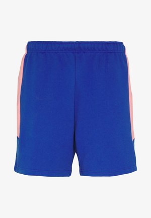 EXTREME BLOCK SHORT - Tracksuit bottoms - blue/miami pink