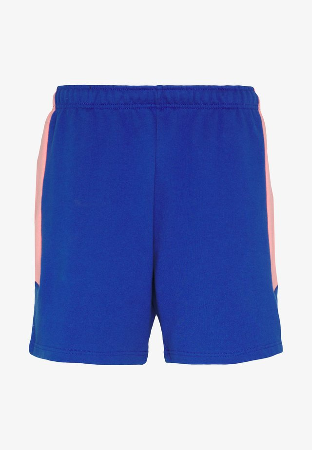EXTREME BLOCK SHORT - Pantalones deportivos - blue/miami pink