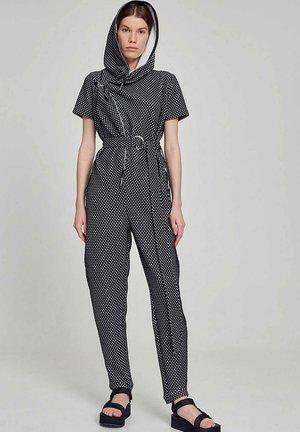 DESIGNER - Jumpsuit - weiß schwarz