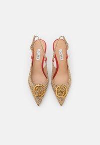 Guess - ALENY - Klassieke pumps - beige/light brown - 5
