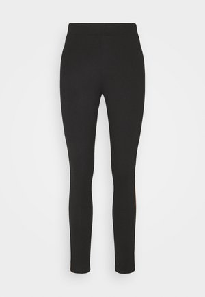 TREGGING PUNTO TAPE - Leggings - Trousers - black cinnomon