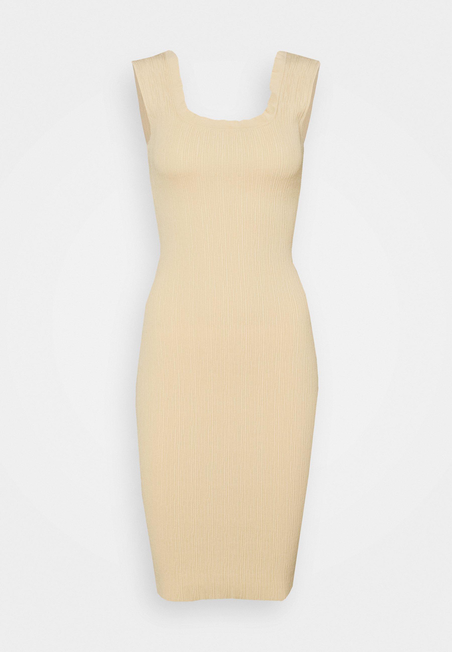 Women EDGE TEXTURED MIDI DRESS - Shift dress