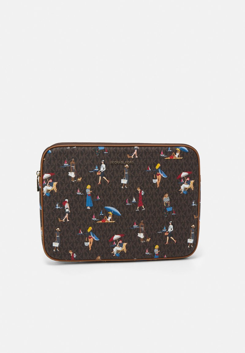 MICHAEL Michael Kors - JET SET LAPTOP CASE - Laptop bag - brown/multi