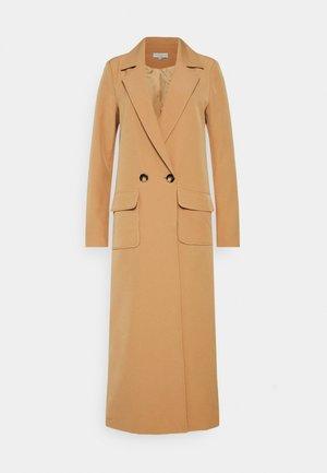 JACKET - Classic coat - camel