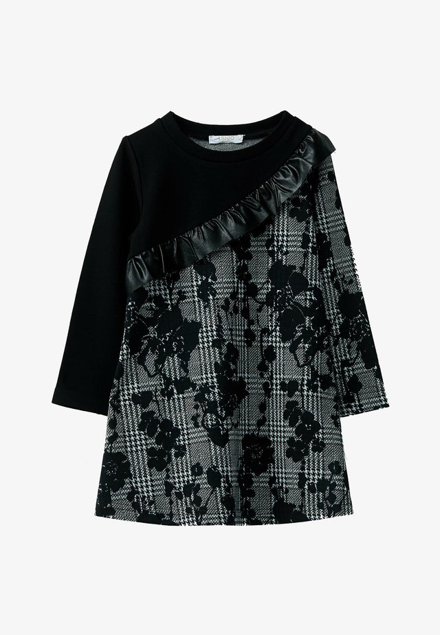 LIU JO KIDS - Robe en jersey - black