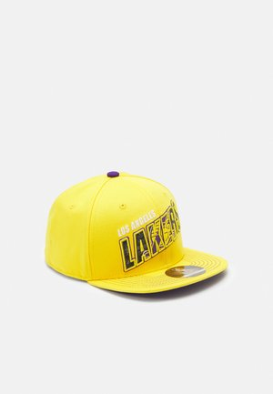 NBA LA LAKERS STREET SNAPBACK UNISEX - Pet - bright yellow