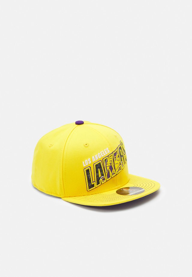 NBA LA LAKERS STREET SNAPBACK UNISEX - Caps - bright yellow