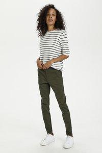 Kaffe - Slim fit jeans - grape leaf - 1