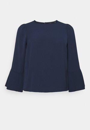 VMSAGA BELL SLEEVE - Blouse - navy blazer