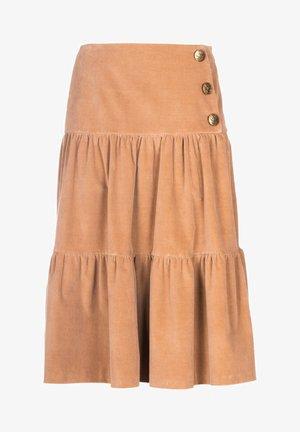 FLAM - A-line skirt - beige
