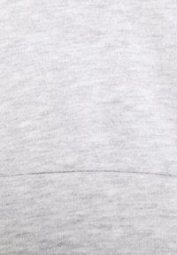 Noisy May - NMLUPA CROP HOOD - Sweatshirt - light grey melange - 5
