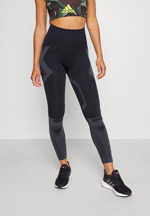 Collants - black/solid grey