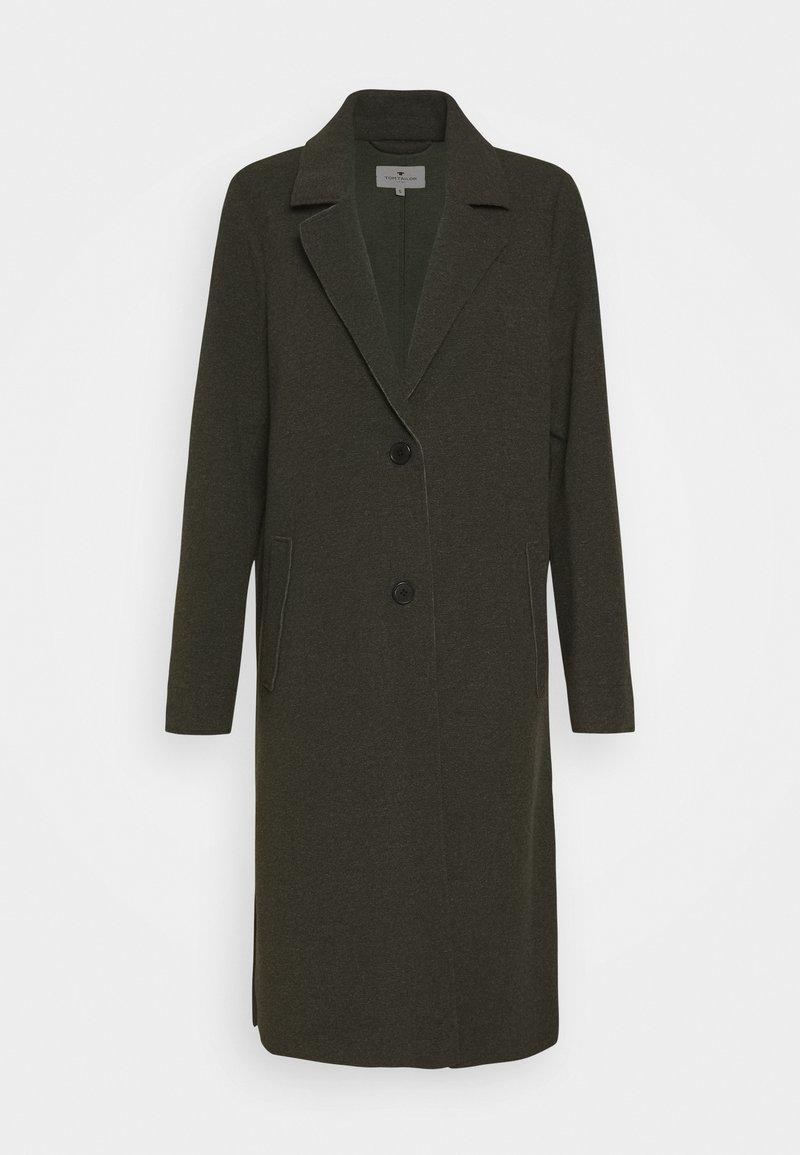 TOM TAILOR - Classic coat - dark rosin green