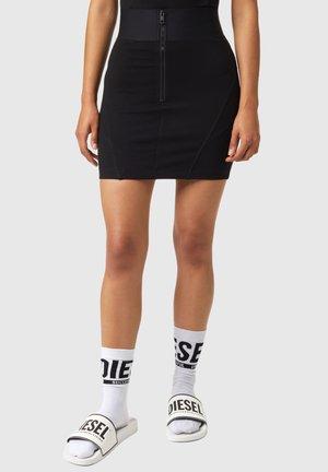 O SUBBY - Spódnica mini - black