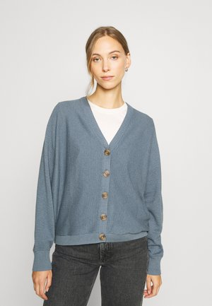 CORE CARDIGAN - Strickjacke - grey blue