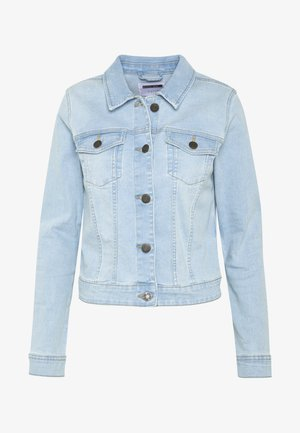 NMDEBRA JACKET - Džínová bunda - light blue denim