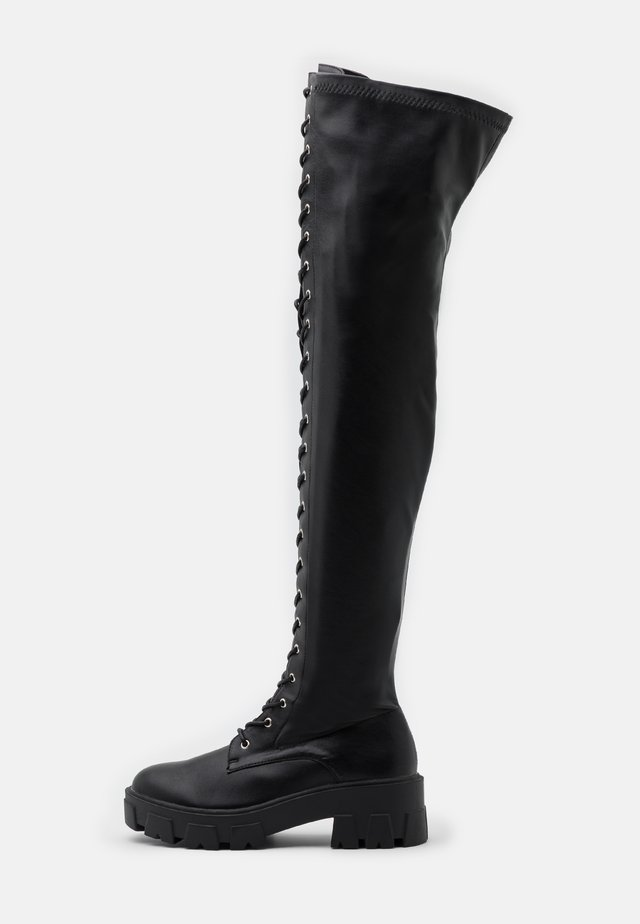 CARLOTA - Over-the-knee boots - black