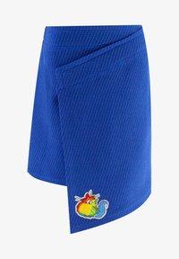 Evika Kids - WITH CAT - Wrap skirt - blue - 0