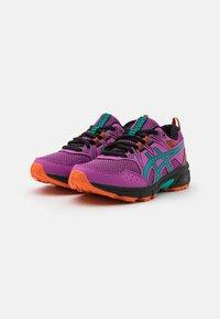 ASICS - GEL-VENTURE 8 UNISEX - Trail running shoes - digital grape/baltic jewel - 1