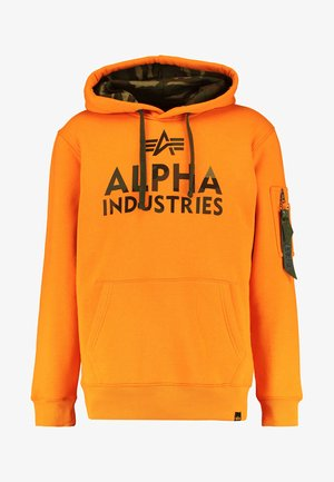 FOAM PRINT - Hoodie - alpha orange