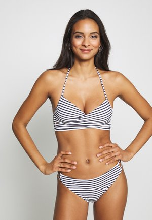ONLJULIE BRAZILIAN SET - Bikini - peacoat/blue/bright white