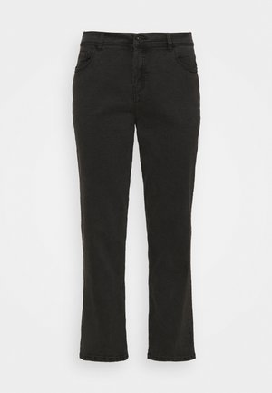 BOYFRIEND - Relaxed fit jeans - washed black