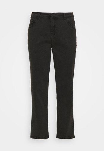 BOYFRIEND - Relaxed fit -farkut - washed black