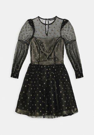 COU - Vestido de cóctel - black/gold
