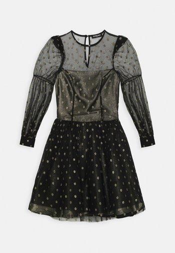 COU - Cocktail dress / Party dress - black/gold