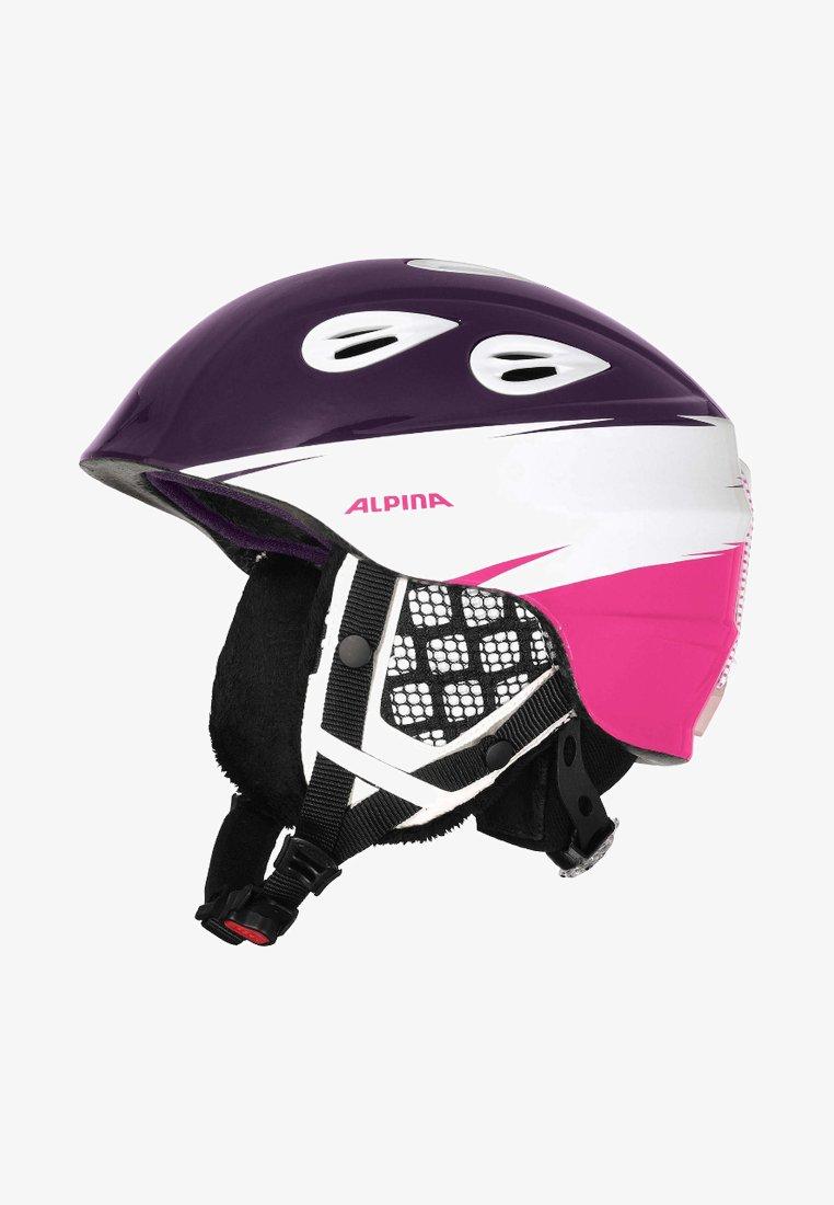 Alpina - GRAP 2.0 JR. - Helmet - purple/white/pink
