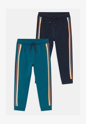 2 PACK - Tracksuit bottoms - lyons blue
