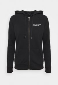 Armani Exchange - FELPA - Zip-up hoodie - black - 0