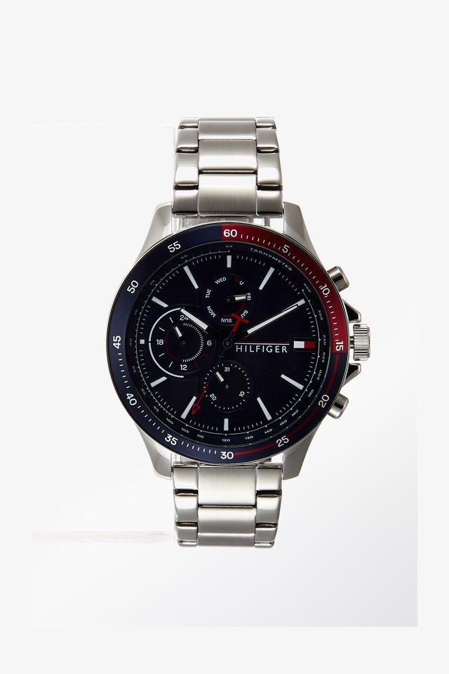 BANK - Horloge - silver-coloured