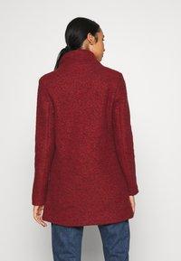 ONLY - SOPHIA - Zimní kabát - fired brick/melange - 2