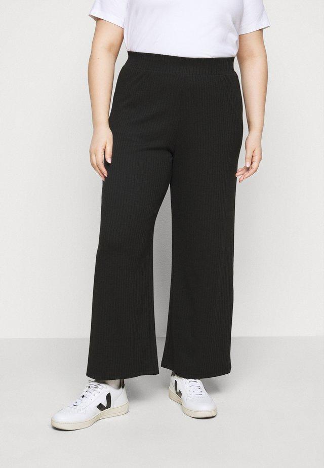 CARMERHAWIT WIDE  PANT - Pantalones - black