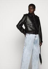 MM6 Maison Margiela - WIDE LEG  - Relaxed fit jeans - blue - 4