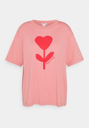 MAI TEE - T-shirt con stampa - pink