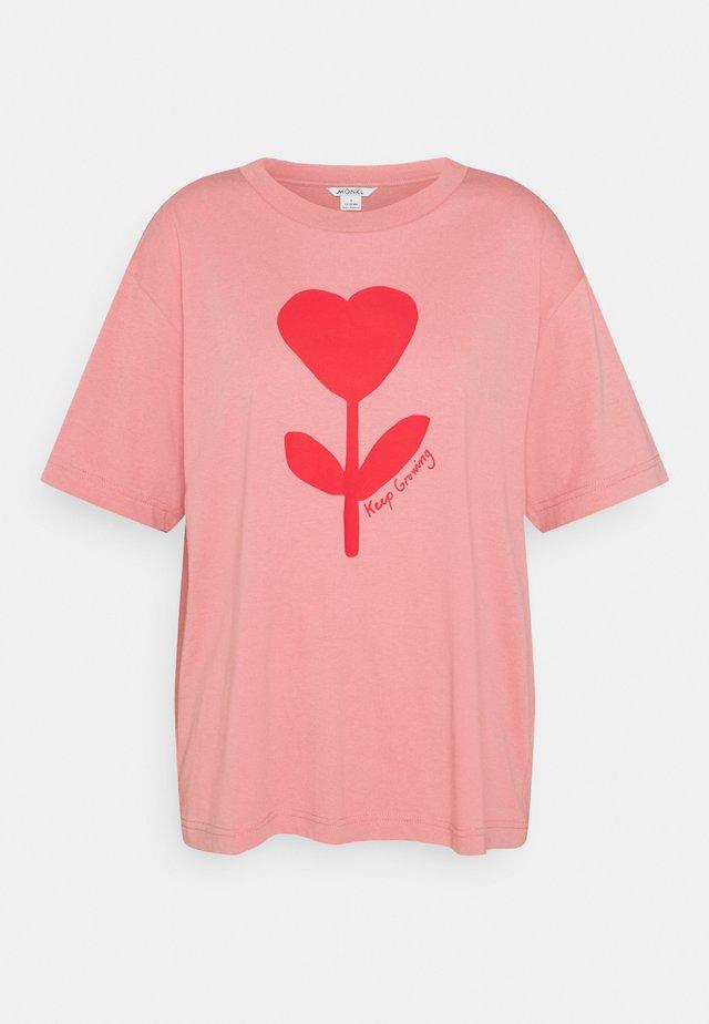 MAI TEE - T-shirt print - pink