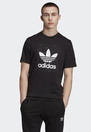 MONOGRAM SQUARE T-SHIRT - Print T-shirt - black