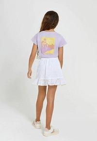 Shiwi - Wrap skirt - bright white - 3