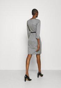 Anna Field - Shift dress - black/white - 2